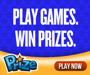 Get prizes for playing free games